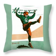 On The Field Throw Pillow