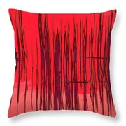 On The Way To Tractor Supply 3 19 Throw Pillow
