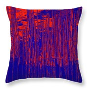 On The Way To Tractor Supply 3 24 Throw Pillow