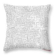 One Liner 15 Jtl Throw Pillow