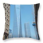 One World Trade Center 4 Throw Pillow