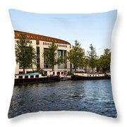 Opera House At The Waterfront Throw Pillow
