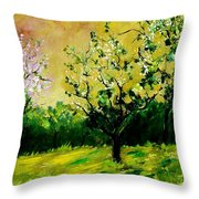 Orchard Throw Pillow