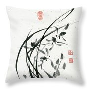 Orchid - 31 Throw Pillow