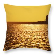 Oregon, Bandon Throw Pillow
