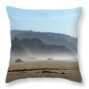 Oregon Coast 8 Throw Pillow