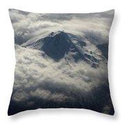 Oregon Mountain Throw Pillow