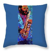 Ornette Coleman Throw Pillow