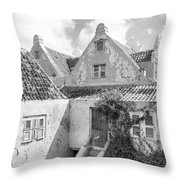 Otrobanda Curacao Throw Pillow