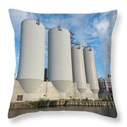 Oulu From The Sea 5 Throw Pillow