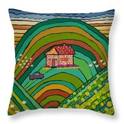 Our Farm Throw Pillow