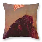 Our Flag Throw Pillow