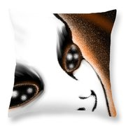 Out There Somewhere Throw Pillow