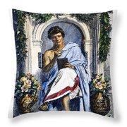 Ovid (43 B.c.-c17 A.d.) Throw Pillow
