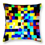 P Game Throw Pillow