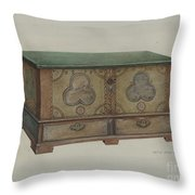 Pa. German Chest Throw Pillow