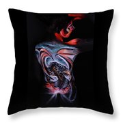 Painful Release Throw Pillow