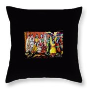 Pakistani Wedding Throw Pillow