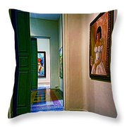 Palace Of The Iturriza Throw Pillow