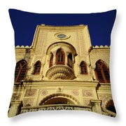 Palace Of The Maharaja Of Tehri-garhwal Near Rishikesh, India Throw Pillow