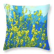Palo Verde Spring Throw Pillow