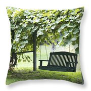 Pammys Swing Throw Pillow