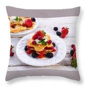Pancake Throw Pillow
