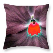 Pansy Power 80 Throw Pillow
