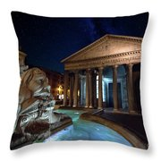 Pantheon Rome Throw Pillow