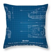 Sd. Kfz. 171. Panzerkampfwagen V - Panther Throw Pillow