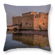 Paphos - Cyprus Throw Pillow