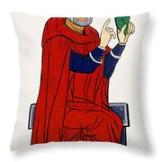 Paracelsus, Swiss Doctor And Alchemist Throw Pillow