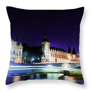 Paris At Night 15 Art  Throw Pillow