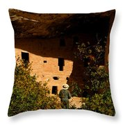 Park Ranger Throw Pillow
