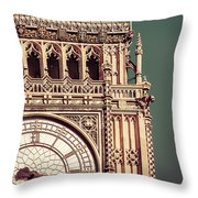 Part Of The Face Throw Pillow