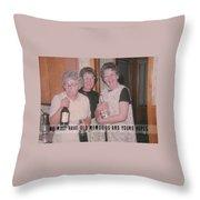 Party Time Quote Throw Pillow