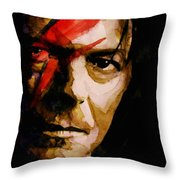 Past And Present  Throw Pillow