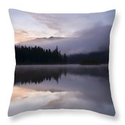 Pastel Dawn Throw Pillow