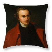 Patrick Henry, American Patriot Throw Pillow by Science Source