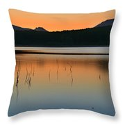 Peace At The Lake Throw Pillow