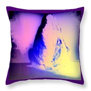 Trying To Find Peace In My Mind Throw Pillow
