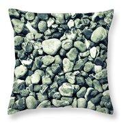 Pebbles 9 Throw Pillow