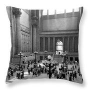 Pennsylvania Station Interior Throw Pillow