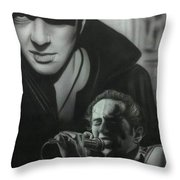 People- Joe Strummer Throw Pillow