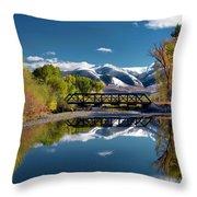 Perfect Autumn Day Throw Pillow