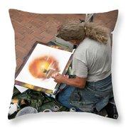 Performance Of Art Throw Pillow
