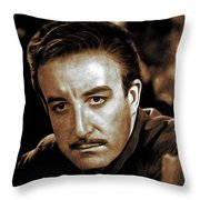 Peter Sellers, Actor Throw Pillow