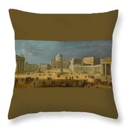 Peters Basilica Throw Pillow
