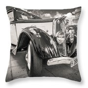 Peugeot 201  Throw Pillow by Gary Gillette