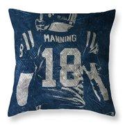 Peyton Manning Colts 2 Throw Pillow